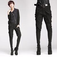 8119 trousers skinny pants strap
