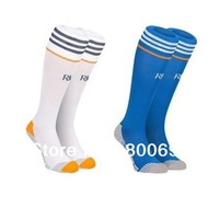 Thai version High quality Soccer socks Football socks Stocking in color white