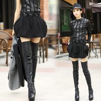 2014 normic spring fashion slim all-match fashion lantern skirt 8285