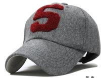 Free shipping qiu dong men and women fashion people warm hat 5 cloth towel embroidery baseball cap outdoor leisure cap