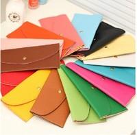 2013 women's handbag wallet long design fashion female bag multi-colored candy color card holder