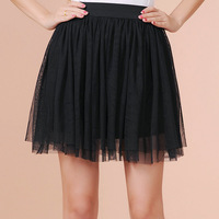 2014 Autumn and winter women lace short skirt high waist skirts free shipping