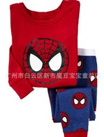 Spider-Man Kids Clothes baby pajamas set 100% conton , kids pajamas,Children Pyjamas,Children SleepwearA5