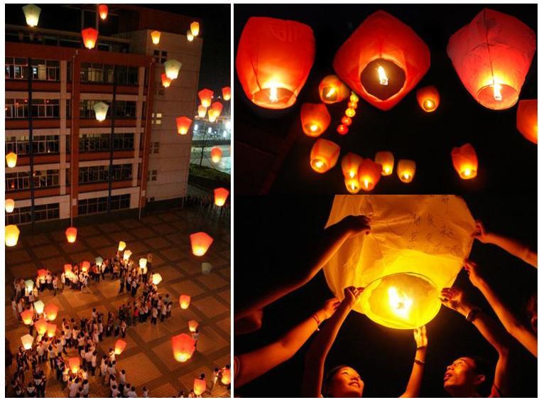 "Mixed batch ""Minimum Order $ 10,"" Wishing lights / Sky Lanterns / flame retardant / pictured / No Picture(China (Mainland))"