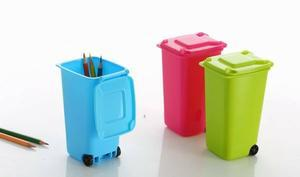 Desktop Storage sanitation trash barrel Mini Desktop trash bins trumpet(China (Mainland))
