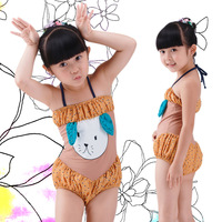 Wholesale Children's swimsuit swimwear for kids 2014 girl's swimsuit Cute Swimwear Girl's bikini #P130524