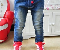 Free shipping on the new south Korean boy jeans casual pants, children's clothing wholesale children's wear childrenA5