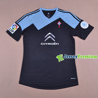CELTA DE VIGO AWAY 2013/14 Top Thailand Quality Soccer jersey football kits Embroidery Logo Uniform 100% Polyester Free shipping