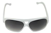 New white sunglasses sunglasses of the sun glasses Acrylic Aviator  Lens Frame UV400