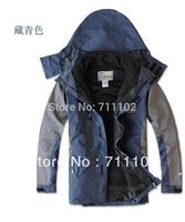 new men winter Jackets outdoor outwear sports waterproof windproof  hood Rainproof removal male wear autumn clothes BRAND trench