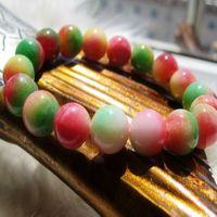 Mysterious Tibet  Race jewelry Colorful unique jade crystal bracelet - - eternal