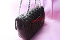 coco ! wholesale shoulder bag women fashion designer women handbags PU soft leather black ladies chain shoulder bags
