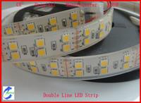 5M Waterproof 24Watt/Meter Double Line 5050 SMD LED Flexable Strip