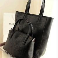 Free shipping Women Fashion Messenger Bag Cross Black Brown Shopping Totes Evening Handbag 2014 Ladies Shoulder Totes Women Bags