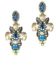 New Auth J-C/-J Crystal Riviera  Drop earring 2014 Fashion Jewelry for Women Luxury  earring