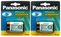 2pcs Genuine Panasonic HHR-P104 Replacement Phone Battery HHRP104 Type 29