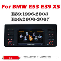 Car DVD for bmw E39 E53 X5 with 1G CPU 3G Host S100 Support DVR 6.2 inch HD screen audio video player Free shipping