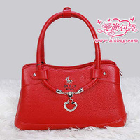Bags 2013 polo women's handbag peach heart shaped handbag women's bag shaping bag elegant bag