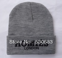 Homies London Beanie hats 2 colors men women high quality autumn winter Knitted caps hip hop Skullies!Free shipping!
