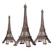 Best Gift!38cm Height Eiffel Tower Metallic Model Vintage Bronze Color Separation Design For Home&Office Decoration