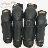 Free Shipping Brand New ATV Motocross Motorcycle Knee Off-road Knee Elbow Guards Pads Black
