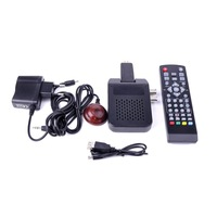 Full high definition 1080P mini DVB-T2 digital terrestrial receiver