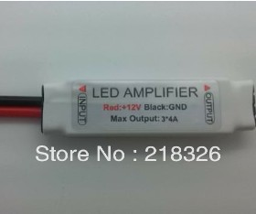 Mini LED Amplifier for rgb strip lights DC12V 12A 144W RGB 4pin Signal amplifier(China (Mainland))