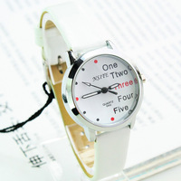 2013 new women quartz watch full leather strap casual relogio feminino clock women dress tea business fashion watch -pdnv000045