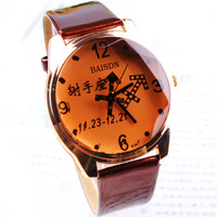 2013 new women quartz watch full leather strap casual relogio feminino clock women dress tea business fashion watch -pdnv000048