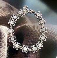 Handmade national trend accessories tibetan silver Women fancy bracelet sl138
