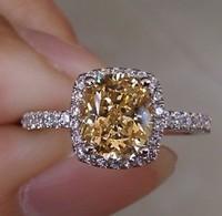 unique wedding ring designs women's diamond rings semi mount engagement ring  princess cut  sona diamond 2 carat
