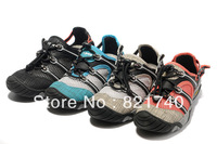 2013 new male business casual flats Large mesh breathable outdoor hiking shoes outdoor hiking shoes gray red