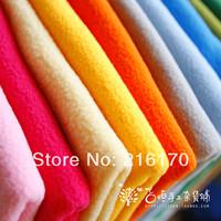 Free shipping wholesale Doll dolls fabric plush fabric soft flannelet solid color polar fleece fabric