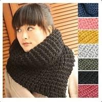 2014 women's long muffler winter scarf thickening yarn thermal triangle warm scarf