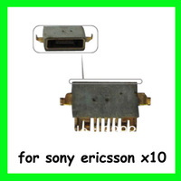 10sets Replacement Micro USB Charger Charging Port Connector for Sony Ericsson Xperia X10 Free Shipping