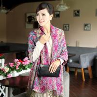2013 autumn and winter cotton bohemia 100% women's lengthen scarf cape