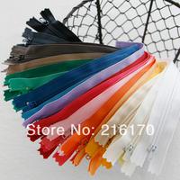 FREE SHIPPING Wholesale 30pcs/lot Diy handmade patchwork short nylon zipper small zip bag 15cm