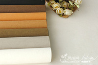 FREE SHIPPING Wholesale Washable kraft paper cowhide fabric patchwork diy