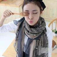 2014 female bali yarn silk scarf beach sacrf large cape muffler spring and autumn scarf