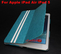 Slim Tablet Case Leather Case Stand Case + Screen Protector + Tablet Pen For Apple iPad 5 iPad Air