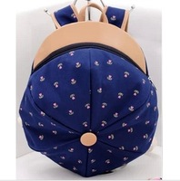 2013 backpack school bag student backpack fashion hat bag preppy style women's style handbag