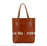 Women Large Square Shoulder Handbag Shopper Shopping Purse 100% First Layer Cow Skin Real Genuin Leather Bag Tote Bags Wholesale