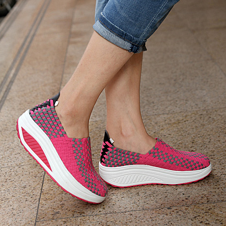 [해외]Sports Shoes Platform Shoes Casual Breathable Snea..