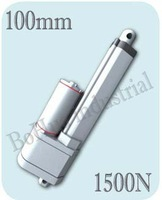 Best Excellent !!!12v,24V 100mm stroke, mini linear actuator, electric linear actuator, thrust 1500N,with potentiometer