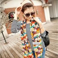 2pcs/lot  Fashion Design silk scarf women 160x50cm twill neckerchief Chiffon scarf Fashion Scarves tippet for Women