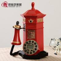 Telephone fashion antique telephone personalized classical decoration landline phone mailbox