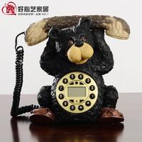 Fashion antique telephone rustic telephone personalized fashion telephone bear