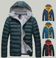 2013 New Men Winter Jacket New Arrived Fashion Sports Outdoor Winter Down Coat Men,size:M-XXL,Men Outerwear Jacket  4 colours