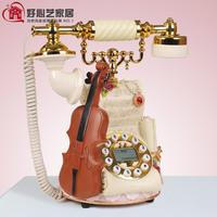 Quality antique telephone vintage telephone fashion phone telephone violin
