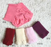 free shipping Drawing butt-lifting abdomen panties 100% women's tiebelt cotton trousers high waist corset pants